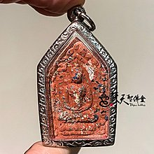 Dhyanibuddhas 梵天聖佛盦 泰國真品佛牌 / 帕阿贊毆 神賜滿願坤平 銅符管版本 紅色款