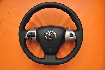 (松鼠的天堂 ) TOYOTA WISH 2010年 G級 原廠方向盤+安全氣囊+換檔撥片   TOYOTA任何車系可以安裝