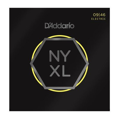 【又昇樂器 . 音響】D'Addario NYXL 0946 Nickel Wound 電吉他弦
