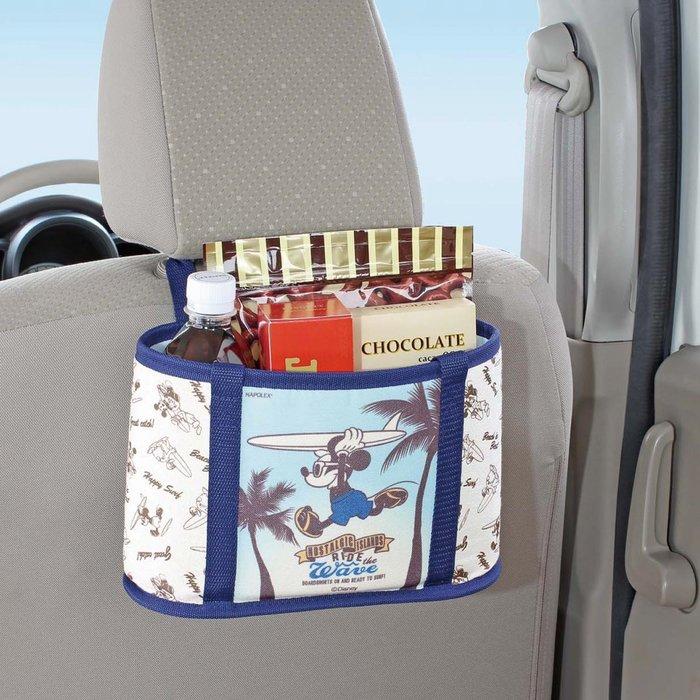 迪士尼Diseny《預購》車用椅背置物袋 手提袋~維尼 米奇 米妮~日本正品~共3款~心心小舖