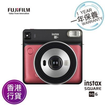 [DJS LIFESTYLE] FUJIFILM INSTAX SQUARE SQ6 INSTANT CAMERA (RED) 富士即影即有菲林相機 (寶石紅)