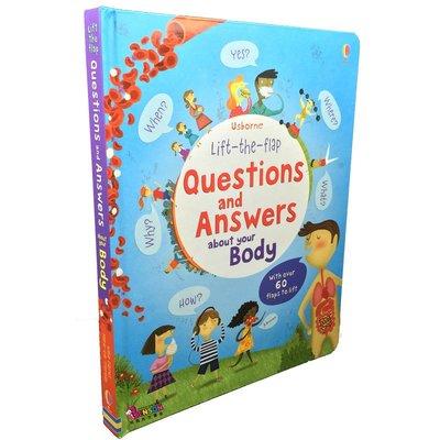 [邦森外文書] Usborne 翻翻書 Questions & Answers about your Body 精裝本