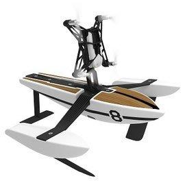 【翼世界】法國Parrot Minidrone Airborne Hydrofoil Drone 智能遙控飛翼船 水空兩用(白色)