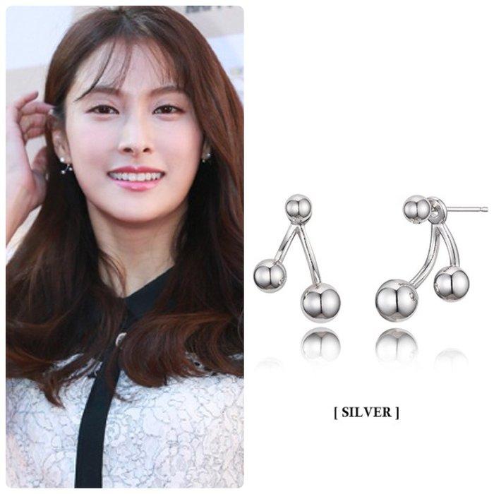 【韓Lin連線代購】韓國 HAESOO.L 海秀兒 - MB1310 925銀 明星款個性耳環