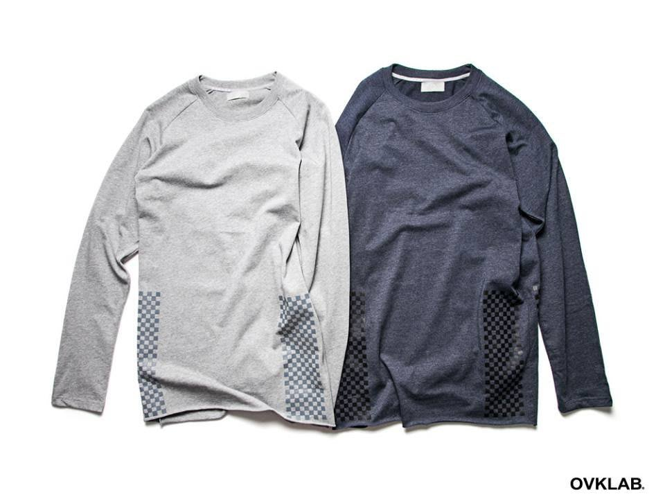 {RABBITER} OVKLAB 2015 AW Checked Print L/S T-Shirt