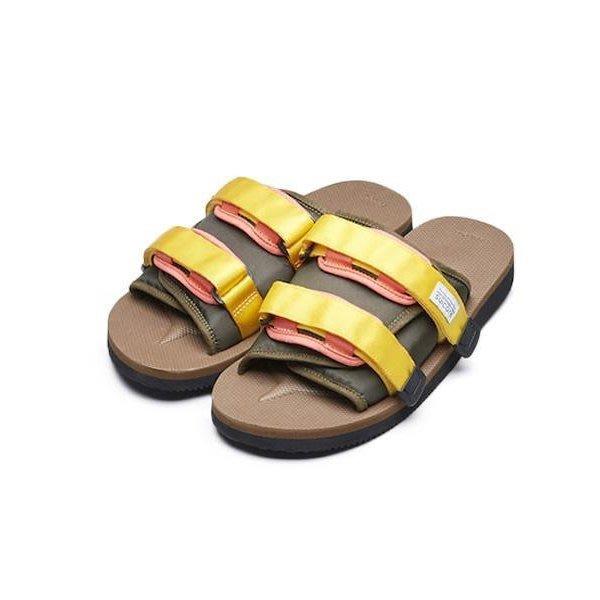 [CABAS滑板店] CABAS SELECT SUICOKE MOTO CAB 綠/咖啡│休閒 涼鞋 耐磨