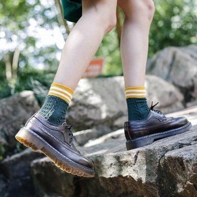 娃娃鞋牛津鞋休閒鞋 布洛克英倫小皮鞋2019學生復古文藝馬丁靴真皮單鞋學院風女鞋