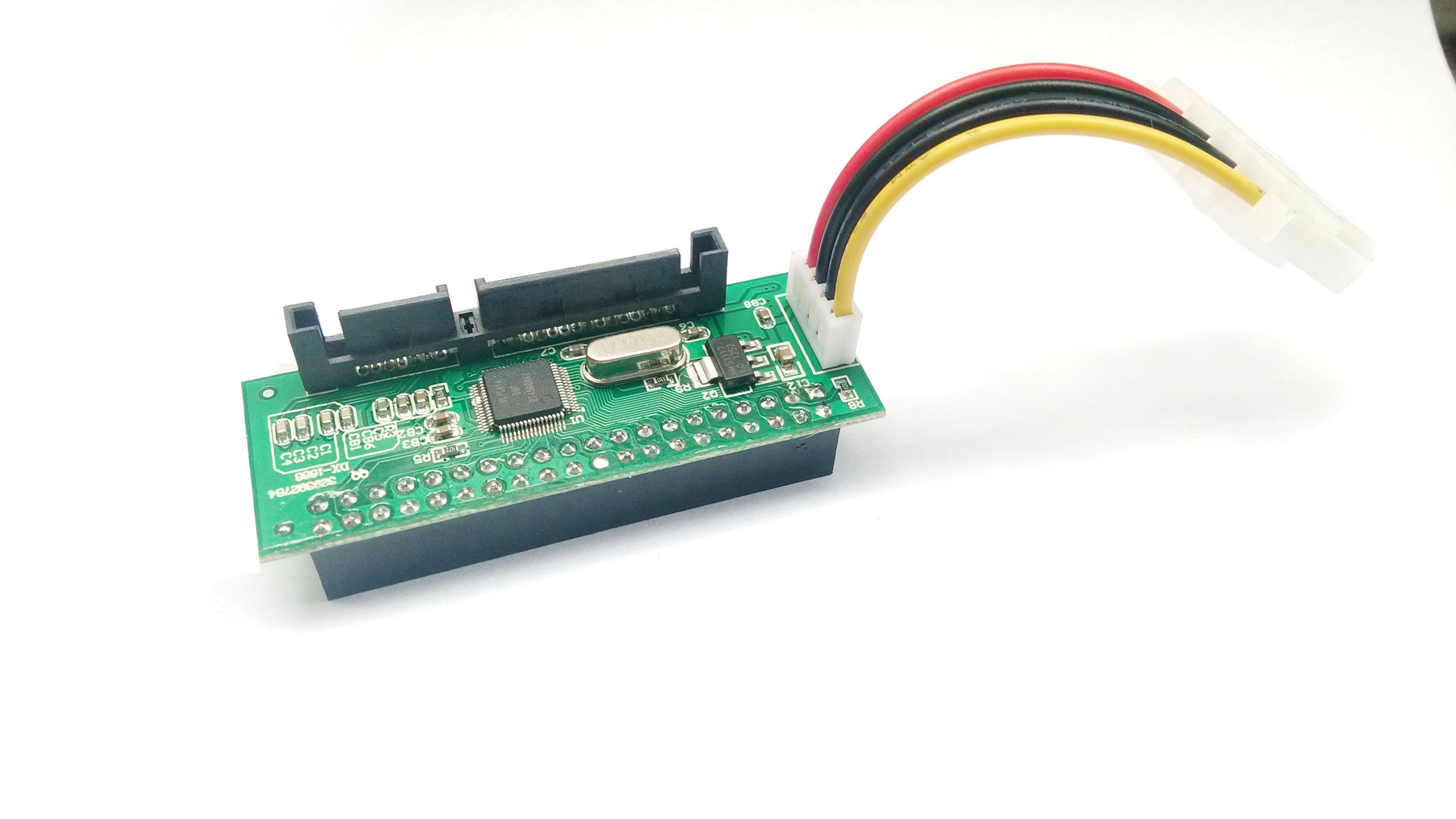 [柚子3C]最新一代 3.5寸 IDE 硬碟光碟機用 IDE 轉 SATA 桌機用IDE轉換卡