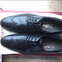 全新Salvatore Ferragamo 男裝皮鞋 size 7D