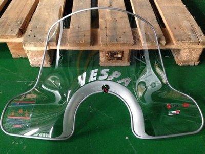 義大利知名 FACO 大片透明風鏡【VESPA GTS300 / GTV300 專用】VESPA字樣