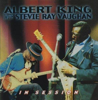 音樂居士*Albert King And Stevie Ray Vaughan - In Session*CD專輯