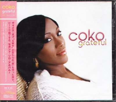 K - Coko - Grateful - 日版 +2BONUS - NEW