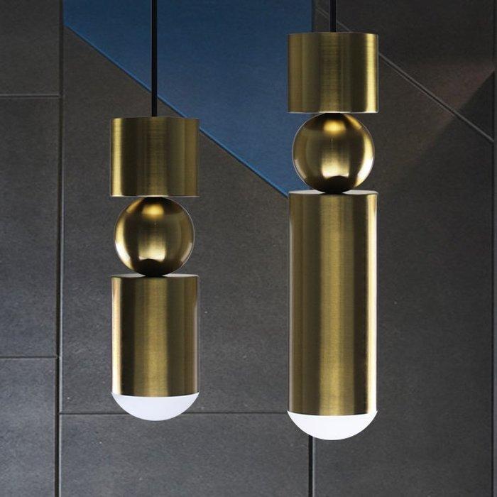【58街】「同心圓圓筒吊燈 」美術燈。複刻版。GH-561