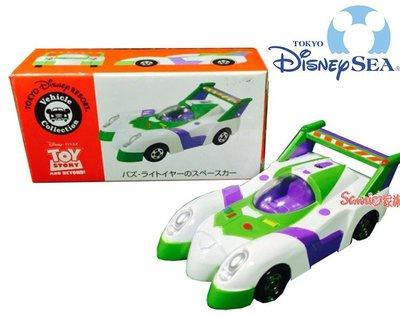 《東京家族》迪士尼樂園限定DISNEY TOMICA 巴斯光年 敞篷跑車 小汽車