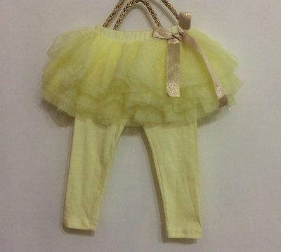 媽媽咪呀~Mamma Mia韓國童裝!過季零碼出清!亮黃紗裙褲