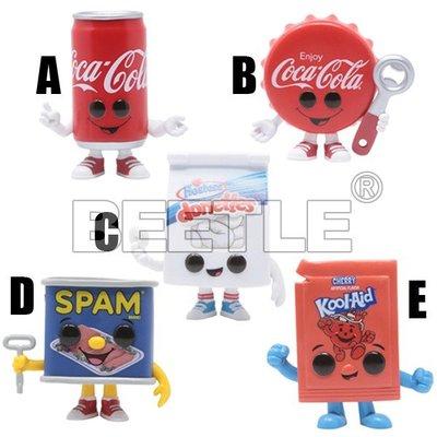 BEETLE FUNKO POP 午餐肉 可口可樂 可樂 COCA COLA SPAM CAN 易開罐 瓶蓋 罐頭