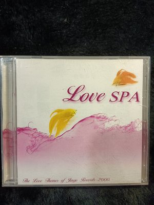 Love SPA  - 2000年 JINGO 金革唱片版 -  戀愛SPA呵護系列 功能音樂 - 101元起標