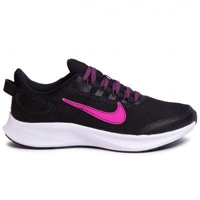 【斯伯特】NIKE RUNALLDAY 2 女慢跑鞋 運動鞋 訓練 透氣 黑紫 CD0224-005