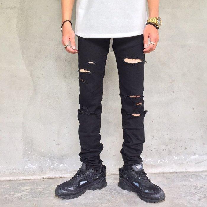 【TONES.】Destroyer denim 大破壞 刀割設計 牛仔褲