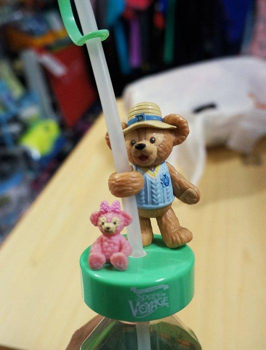 瘋日本*東京迪士尼樂園限定 達菲熊 春日海洋 保特瓶用 可愛吸管 重覆使用環保有型
