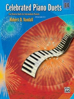 【599免運費】Celebrated Piano Duets, Book 4 Alfred 00-24551