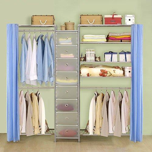 【中華批發網DIY家具】D-62A-13-W2型60+pp+W5型90衣櫥置物櫃-(前罩)不織布