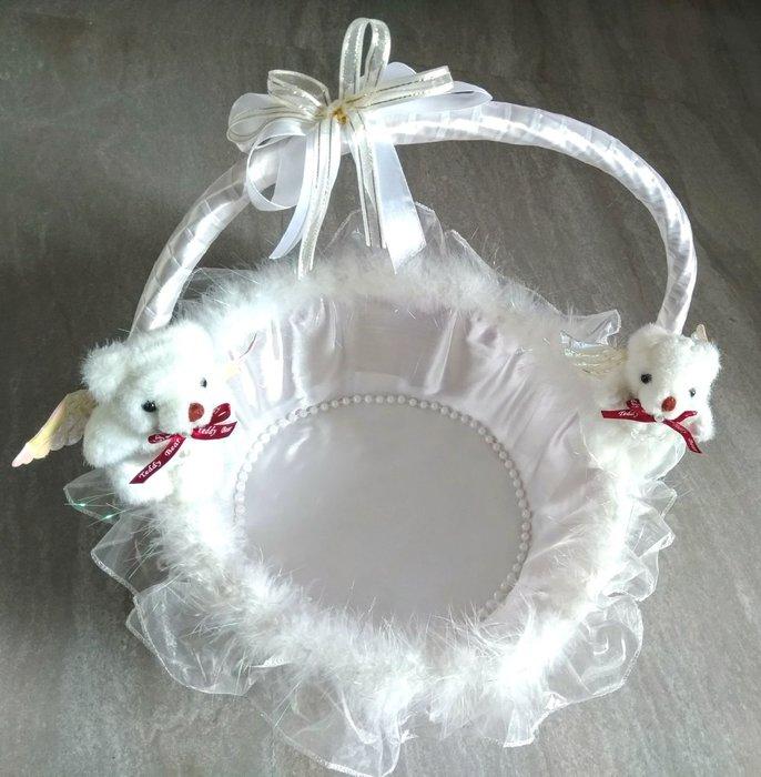 小熊提籃 新娘提籃 囍糖提籃