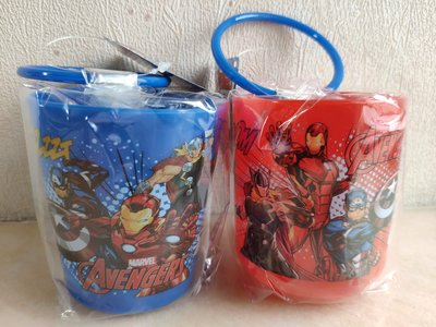 Marvel Avengers 復仇者聯盟 水杯 2隻
