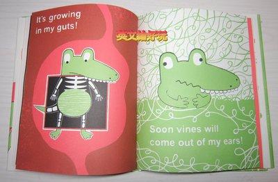【英文繪好玩】The Watermelon Seed 愛吃西瓜的鱷魚 精裝本!!