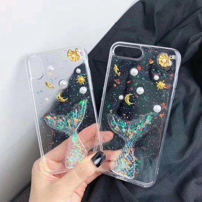 ☆韓元素╭☆Mobile-Style 人魚尾巴 iPhone 11 保護套 6.1吋 軟式保護殼 透明 人魚 防摔 軟殼