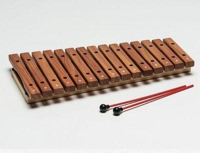 【華邑樂器53012-4】HAOSEN 豪聲 15音桌上小木琴-原木色 (附琴槌 台灣製造 HXOS-15)