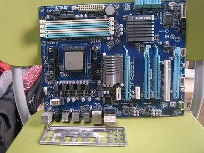 高雄路竹--高階技嘉GA-990FXA-D3 主板(含檔),加X6 1035T六核心(AM3腳位)
