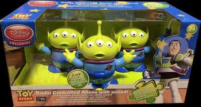 超限定 2000年 玩具總動員 PIZZA 1三眼怪 三眼仔 三連星 走路 搖控版 控制 (豪華盒裝)