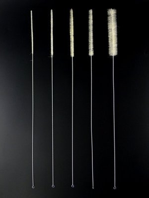 ◇GIDI 儀器◇ 吸管刷1ml 長度450mm,另售試管刷 滴定管刷 移液管刷 量管刷 不銹鋼吸管刷 毛刷