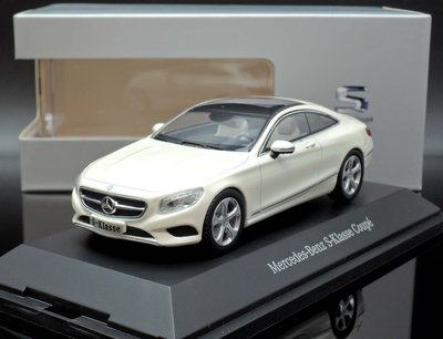 【M.A.S.H】[現貨特價] 原廠 Norev 1/43 Mercedes S-Class C217 Coupe 白