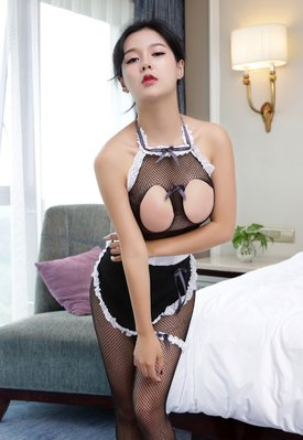 Sexy Maid costume Sleepwear Nightdress Lingerie cosplay hot