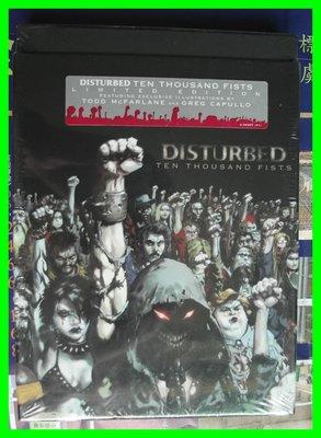 ◎2005全新CD未拆!(美國進口限量盤)-Disturbed-騷動樂團-忿怒之拳-TEN THOUSAND FISTS