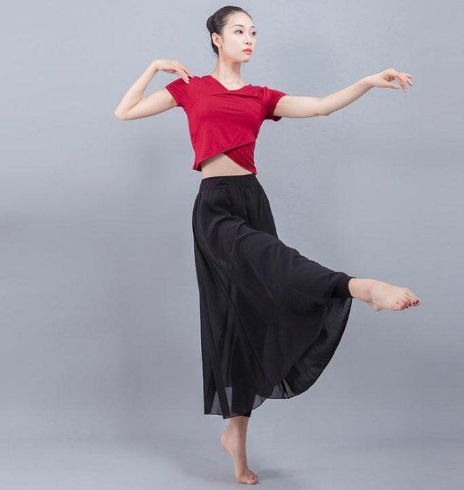 888利是鋪-拉丁舞服裝現代舞蹈練功服 女成人短袖瑜伽形體衣性感跳舞服演出#褲子