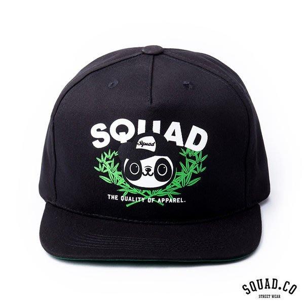 SQUAD 2014 S/S Bamboo Forest Panda Cap 竹林貓熊帽 黑色