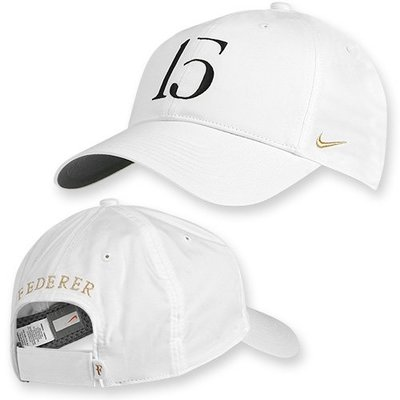 徵 費德勒 Federer 溫網5冠紀念帽 15冠紀念衣帽