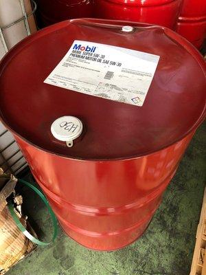 【MOBIL 美孚】Super、5W30、車用機油、208 L/桶【美國進口】大桶區
