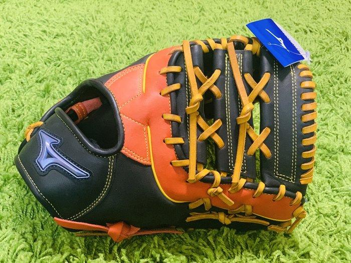 貳拾肆棒球--日本帶回Mizuno ソフトボール用ファンラップef快速壘球捕手/一壘手手套兼用手套/ JSA認證