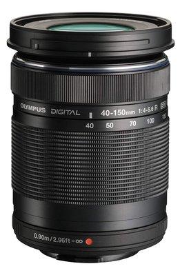 【高雄四海】Olympus M.Zuiko Digital ED 40-150mm F4-5.6 R 全新平輸.銀黑