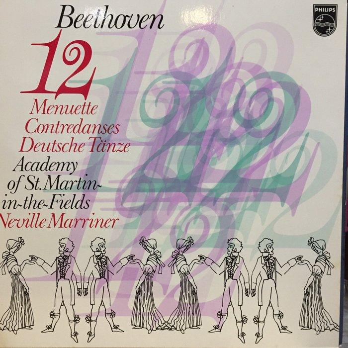 §小宋唱片§ 荷蘭版/貝多芬:小步舞曲/聖馬丁室內樂團/馬利納/二手古典黑膠