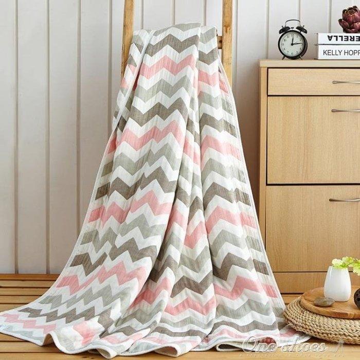 毯子 夏季純棉三層六層紗布毛巾被子單人雙人嬰兒童加厚蓋毯空調毯子薄