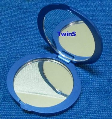 STRAW MAN貝殼雙面鏡 攜帶方便 送禮、自用都很適合【TwinS伯澄】