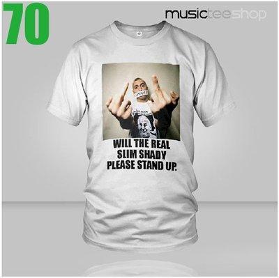 【嘻哈饒舌系列】Eminem【阿姆】【The Real Slim Shady】短袖T恤(男生版.女生版皆有) 【賣場十】