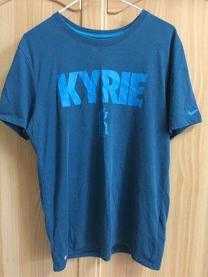 。☆二手☆。Nike 正品Kyrie Irving代言棉T(S)//寶藍色