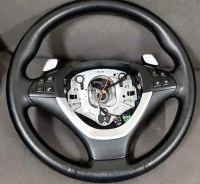 原廠 BMW E70 X5 E71 X6 LCI 換檔快撥方向盤 M Sport 方向盤 X5M X6M 方向盤