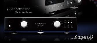 "《 南港-傑威爾音響 》Audio Refinement ""Overture A2"" 綜合擴大機(銀/黑)"